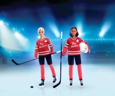 Hockey Barbie