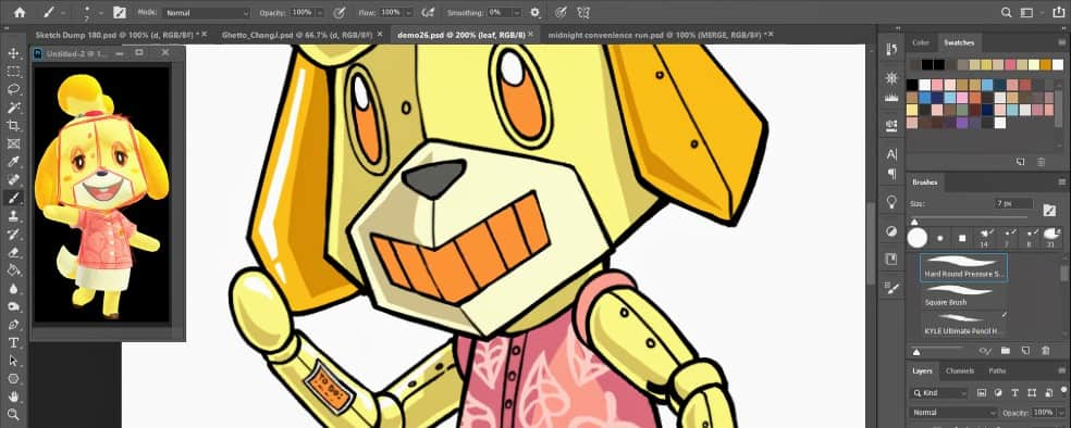 Advanced Cartooning & Anime - LIVE Virtual Art Class
