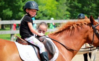 Junior Equestrians at Earthbound Kids