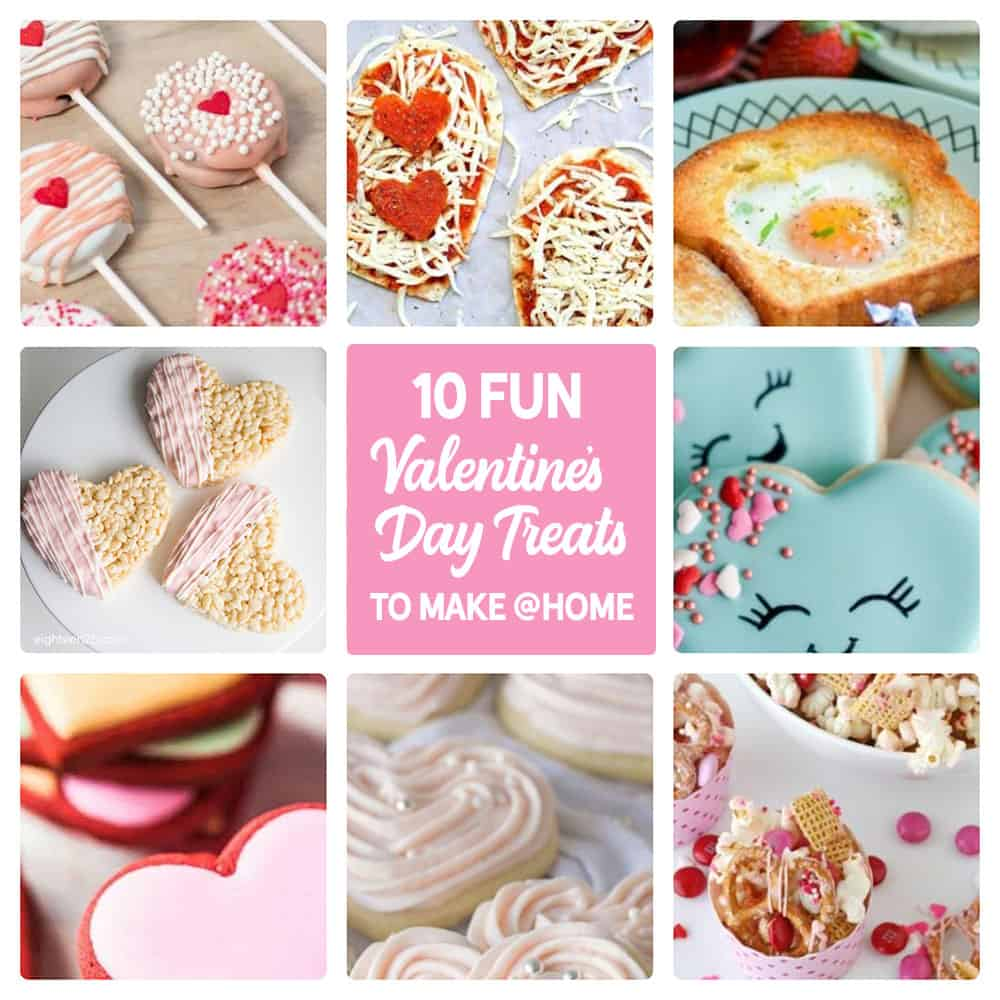 10 Valentine's Day Treats to Make at Home