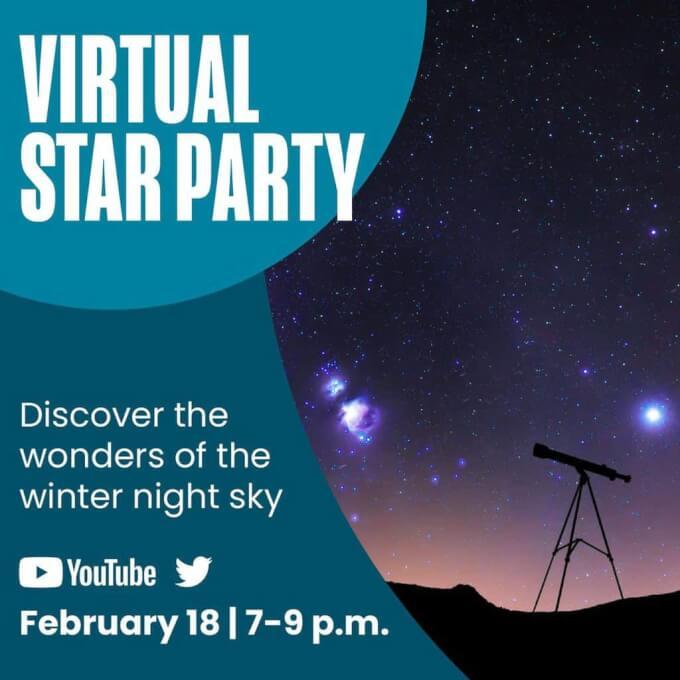Virtual Star Party