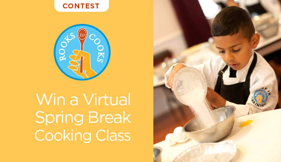 Enter to Win a Rooks to Cooks April Break Cooking Workshop