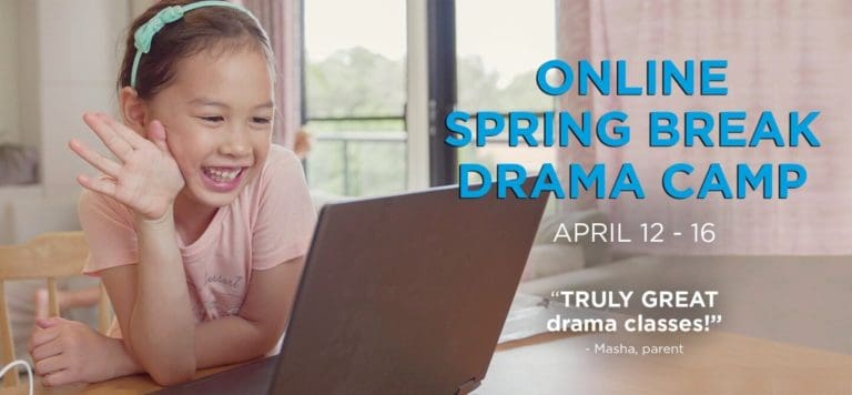 YPT's Online Spring Break Drama Camp