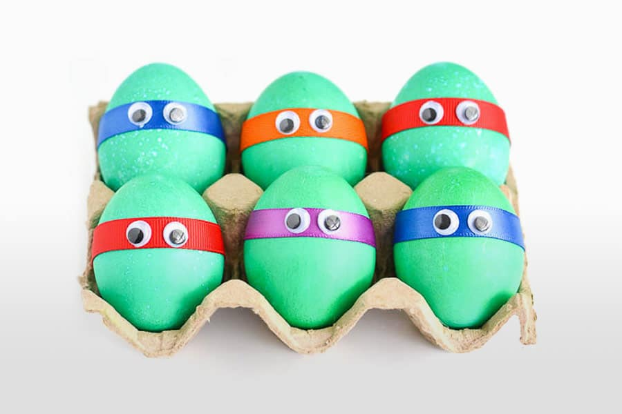 10 Inspired Ideas For Decorating And Dyeing Easter Eggs Child S Life