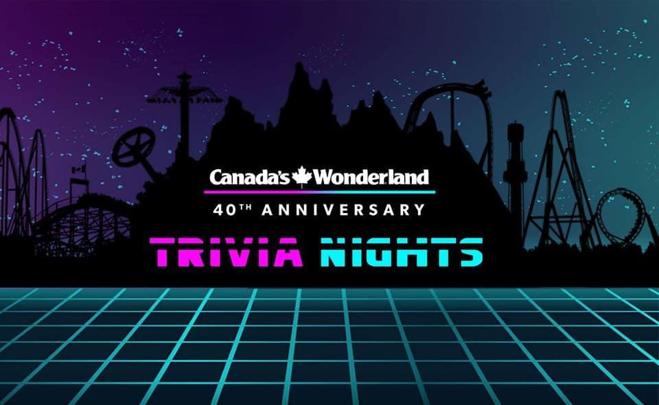 Canadas Wonderland Trivia NIghts