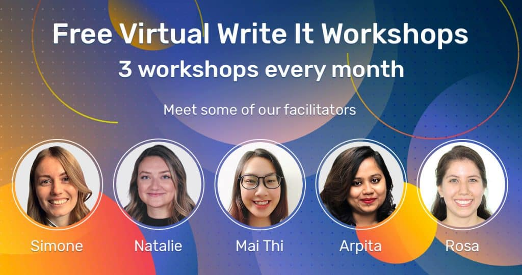Virtual Write It Workshops