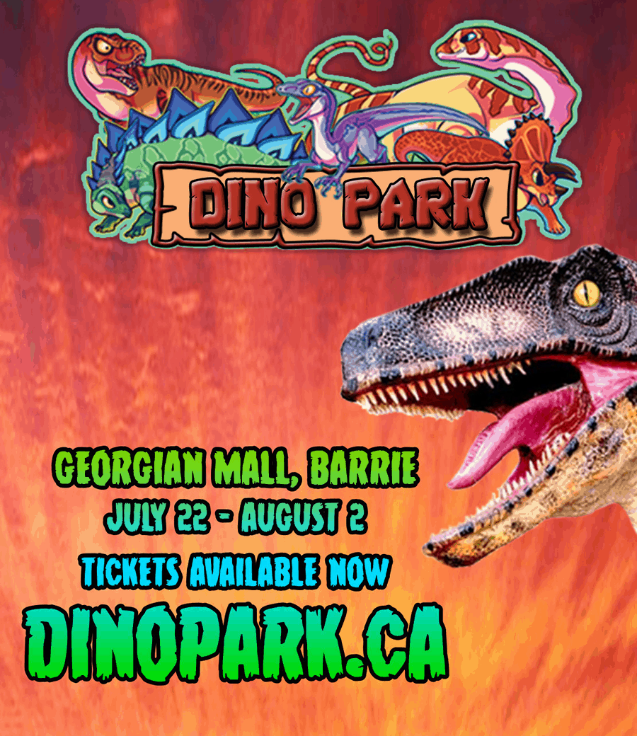 Dino Park in Barrie