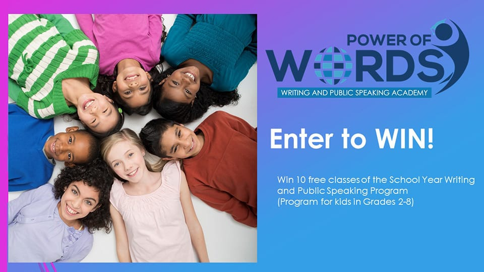 Power of Words Academy 10 Class Giveaway