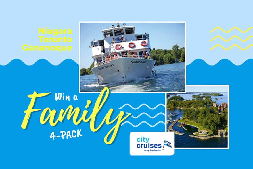 Win a Cruise with City Cruises