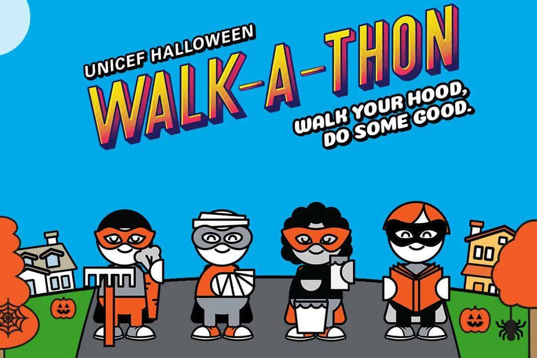 Join UNICEF Canada's Halloween Walk-a-thon Campaign