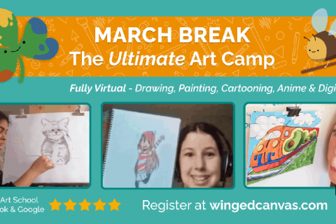March Break at Winged Canvas