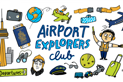 Airport Explorer camps