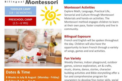 summer camp poster Montessori for jpeg